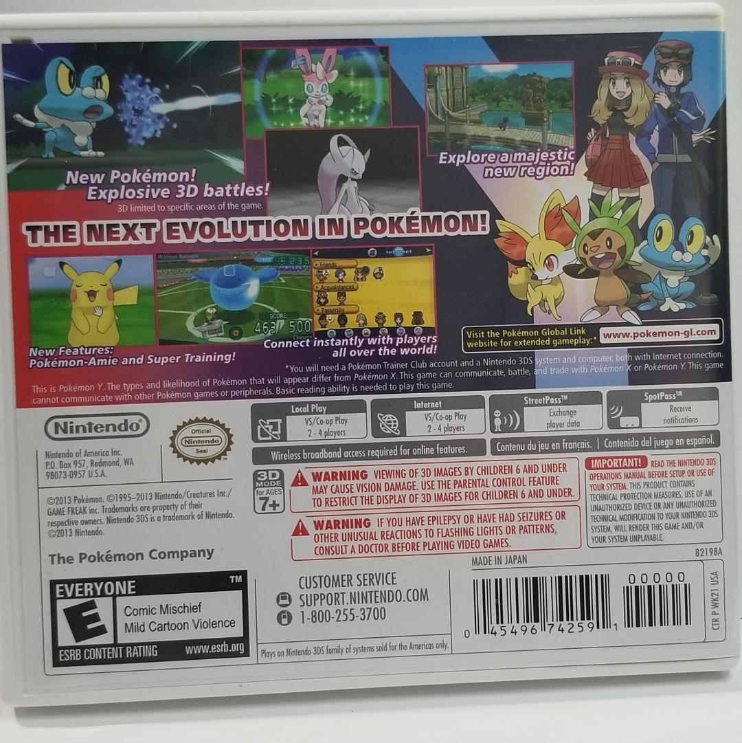 Pokemon Y [Scizor Code Cover]