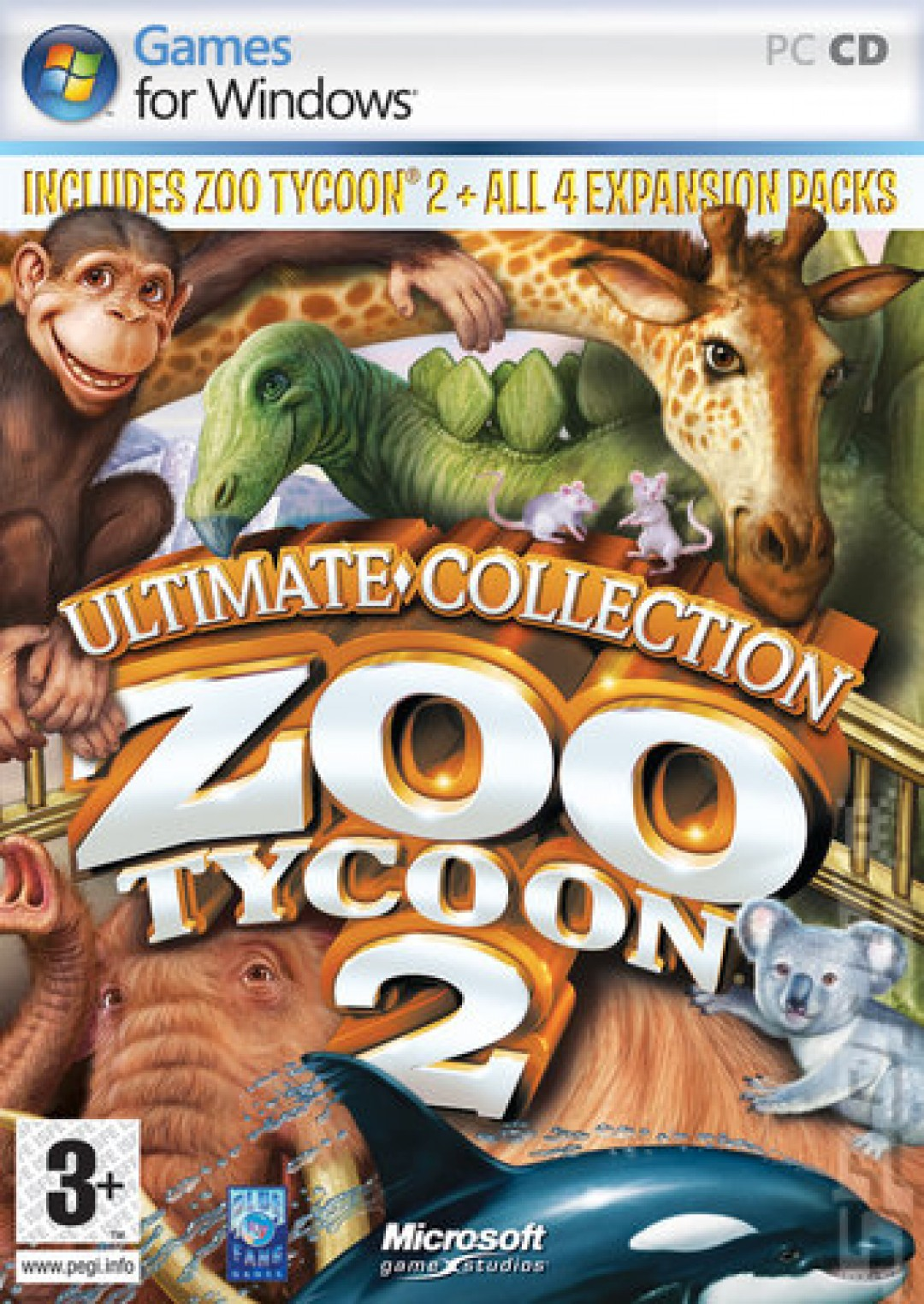 Pc Zoo Tycoon 2 Ultimate Collection The Schworak Site