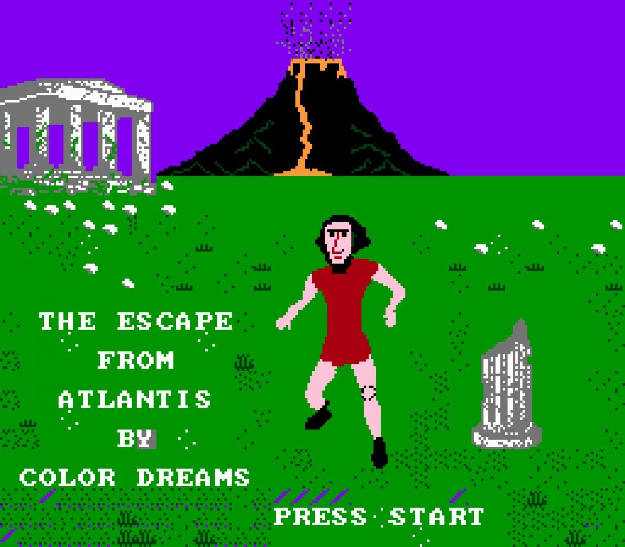 The Escape From Atlantis