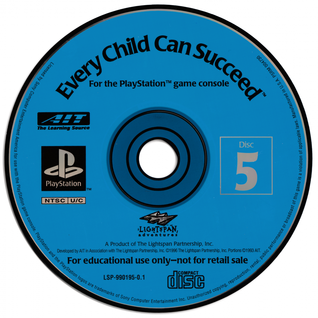 Every Child Can Succeed 5