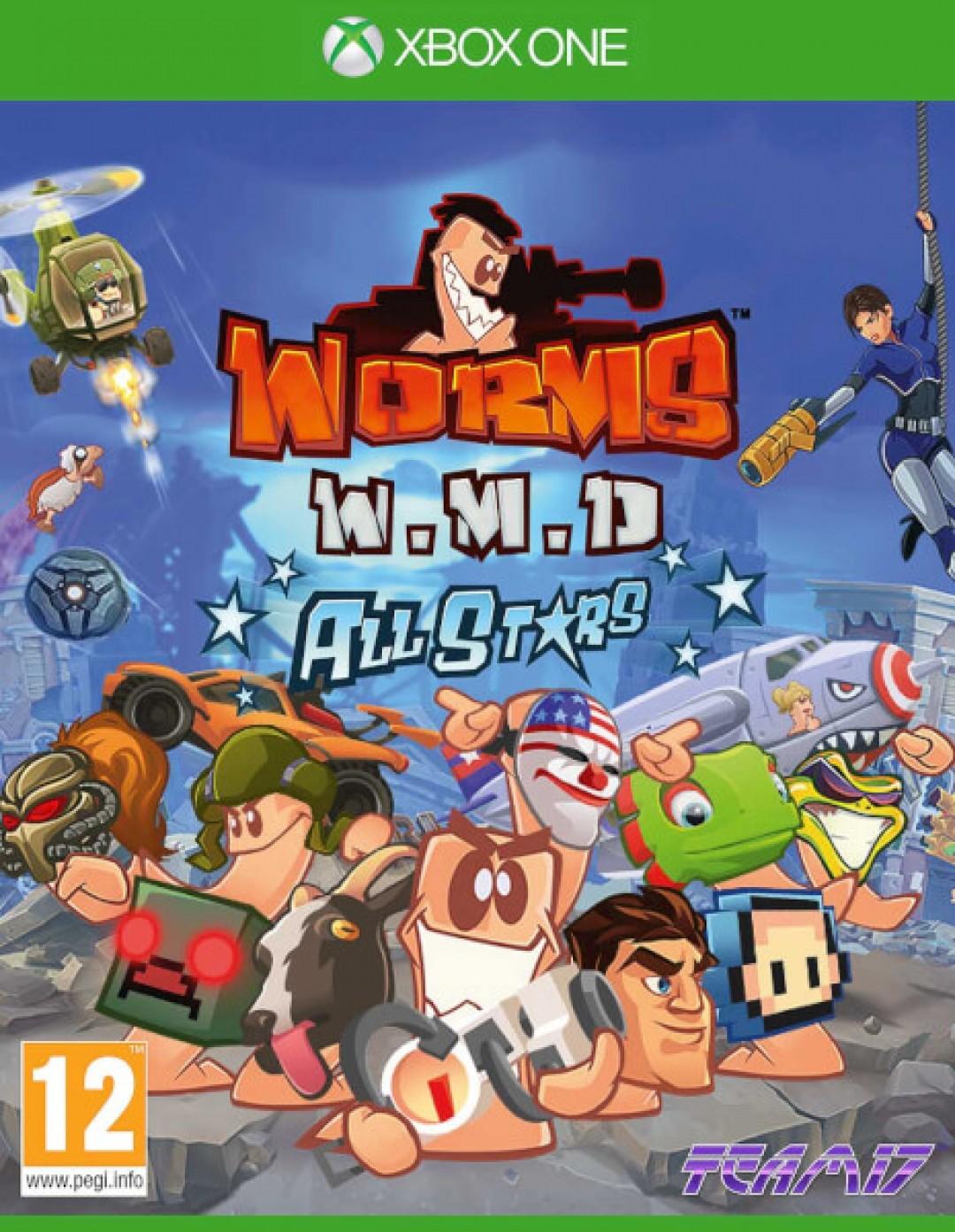 Worms W.M.D. AllStars