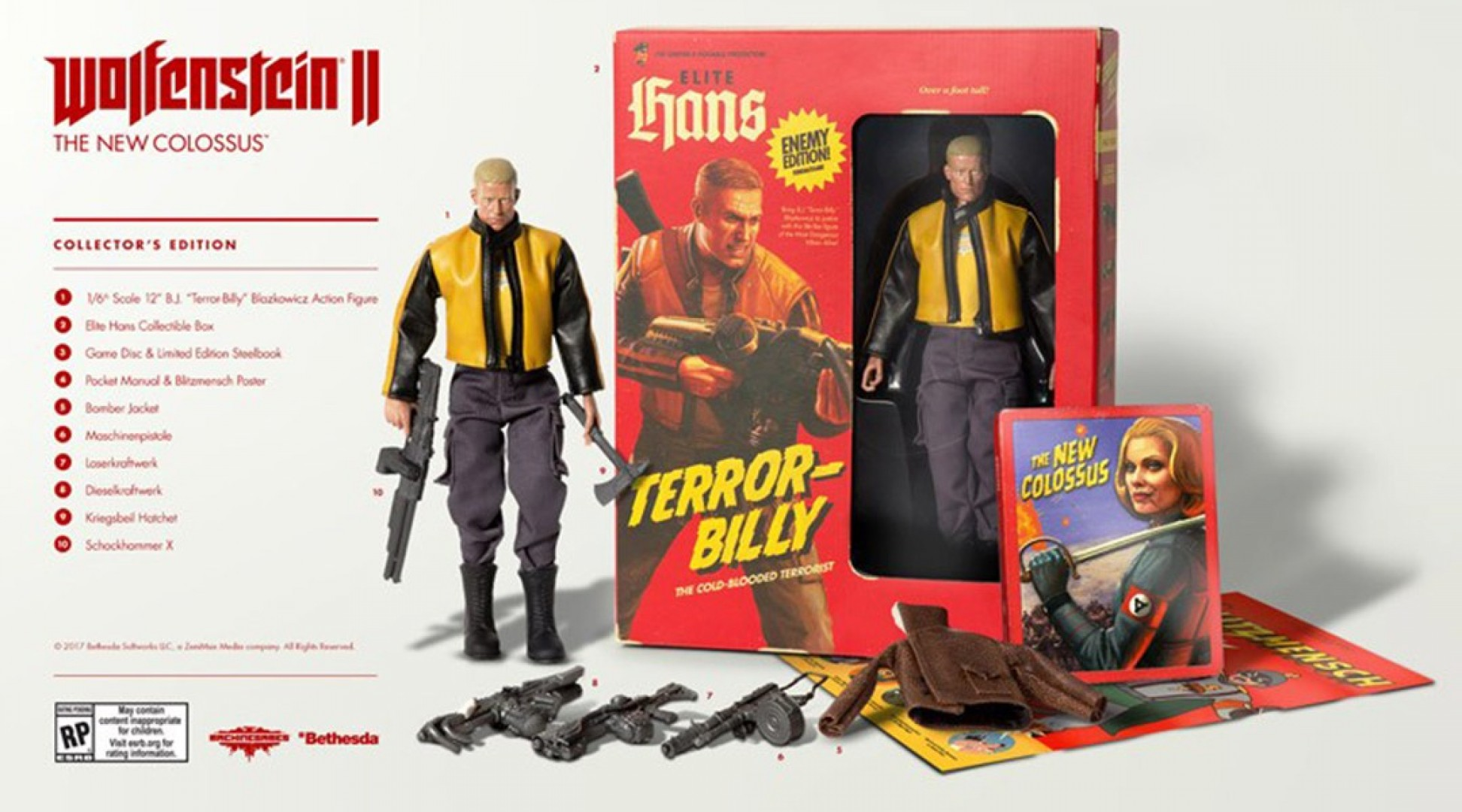 Wolfenstein II: The New Colossus Collector's Edition