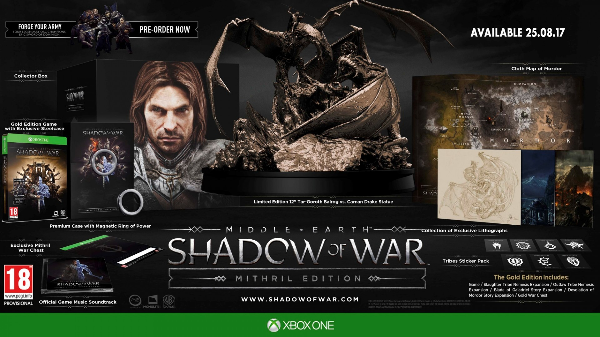 Middle-Earth: Shadow of War Mithril Edition