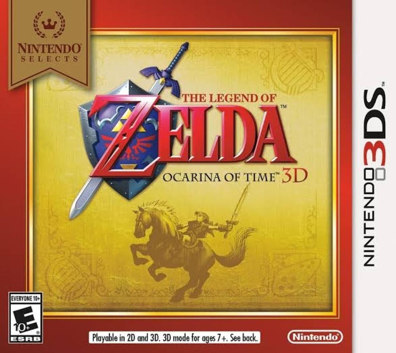 The Legend of Zelda: Ocarina of Time 3D [Nintendo Selects]