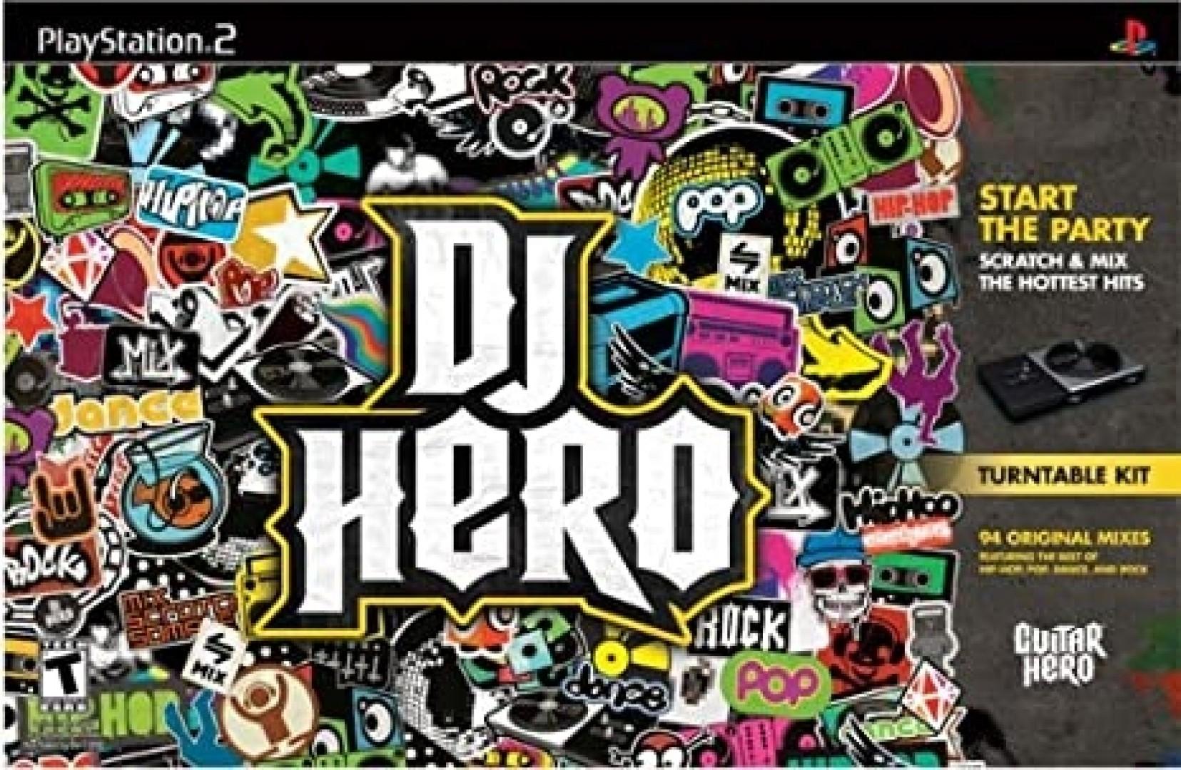 DJ Hero [Turntable Bundle]