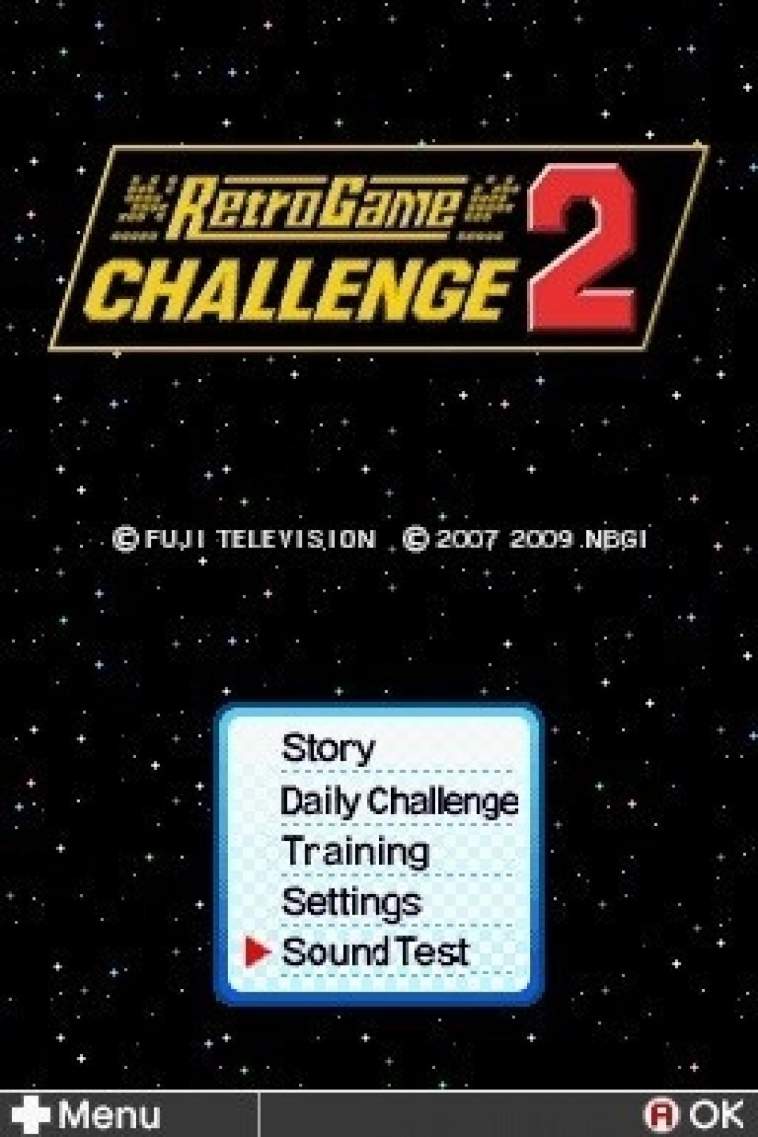 Retro Game Challenge 2