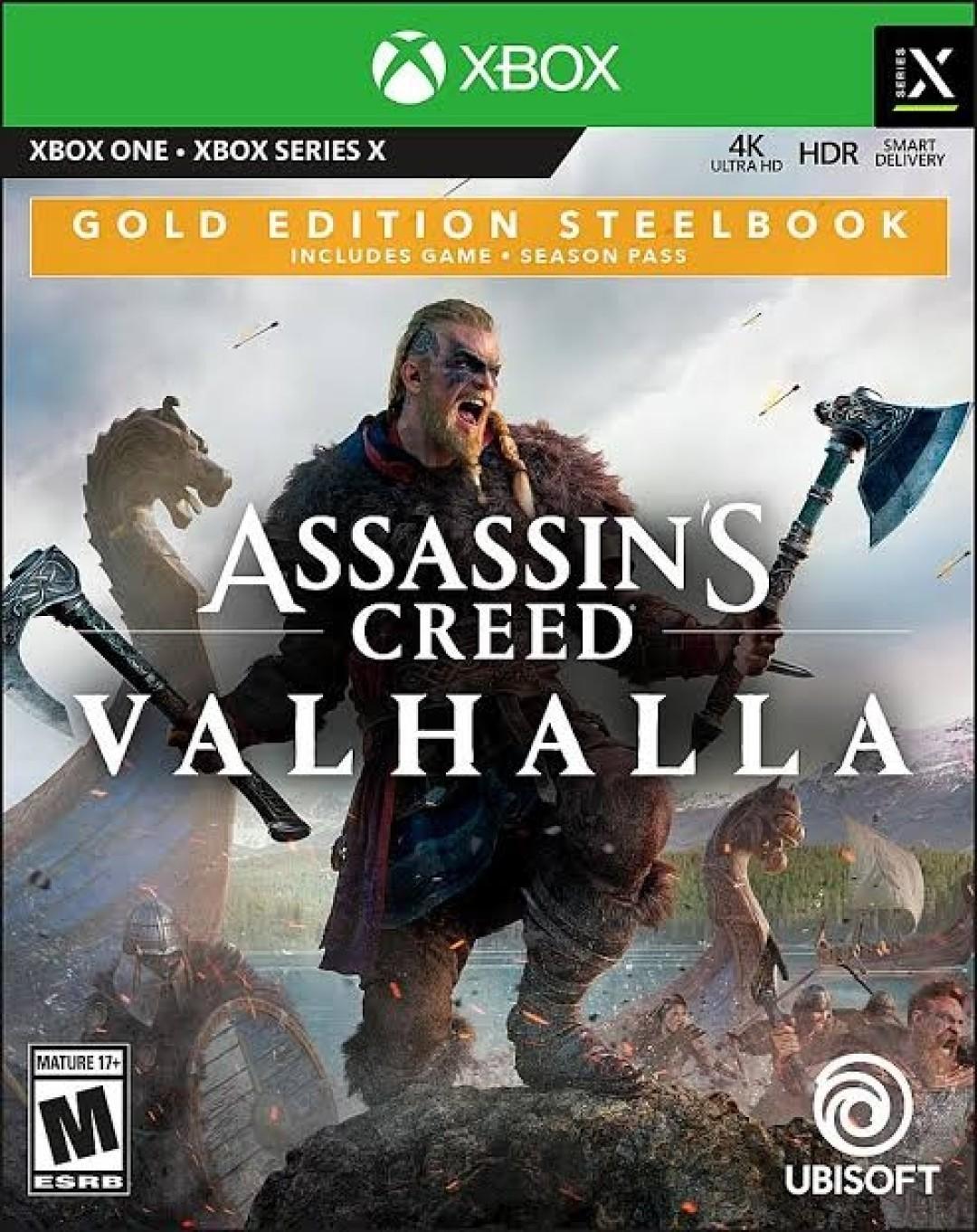 Assassin's Creed: Valhalla - Gold Edition Steelbook