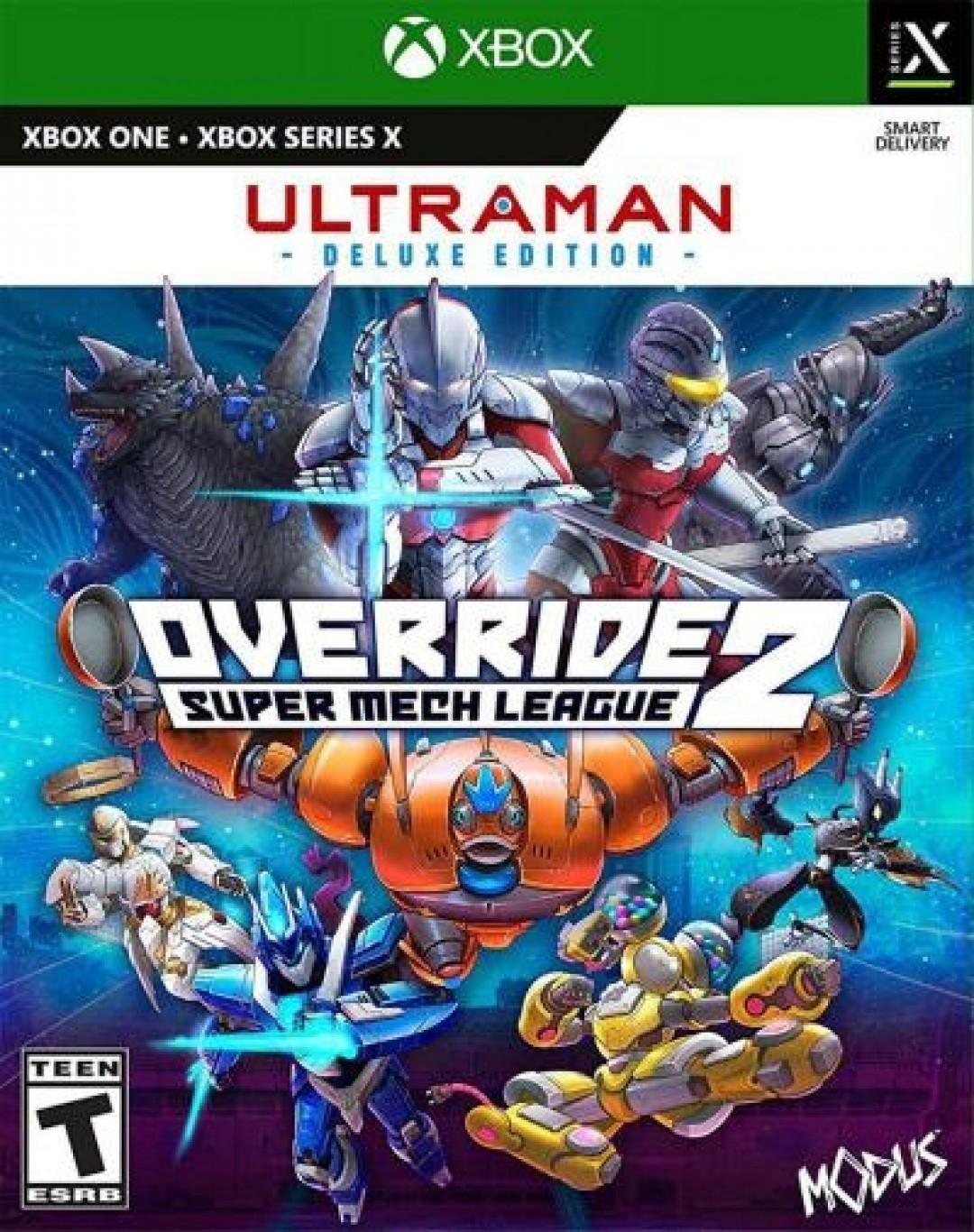 Override 2: Super Mech League (Ultraman Deluxe Edition)