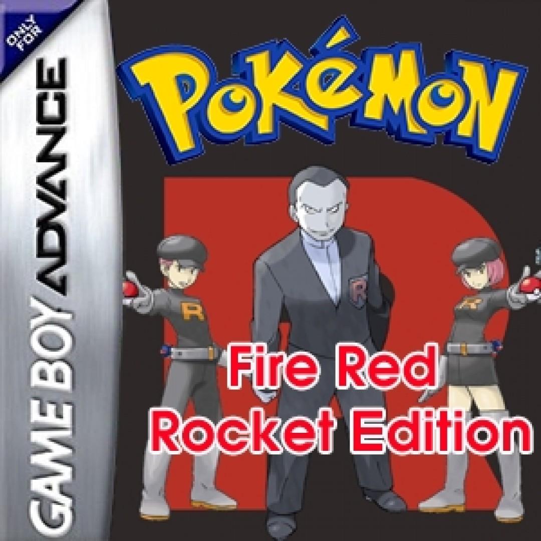 Pokemon Fire Red: Rocket Edition