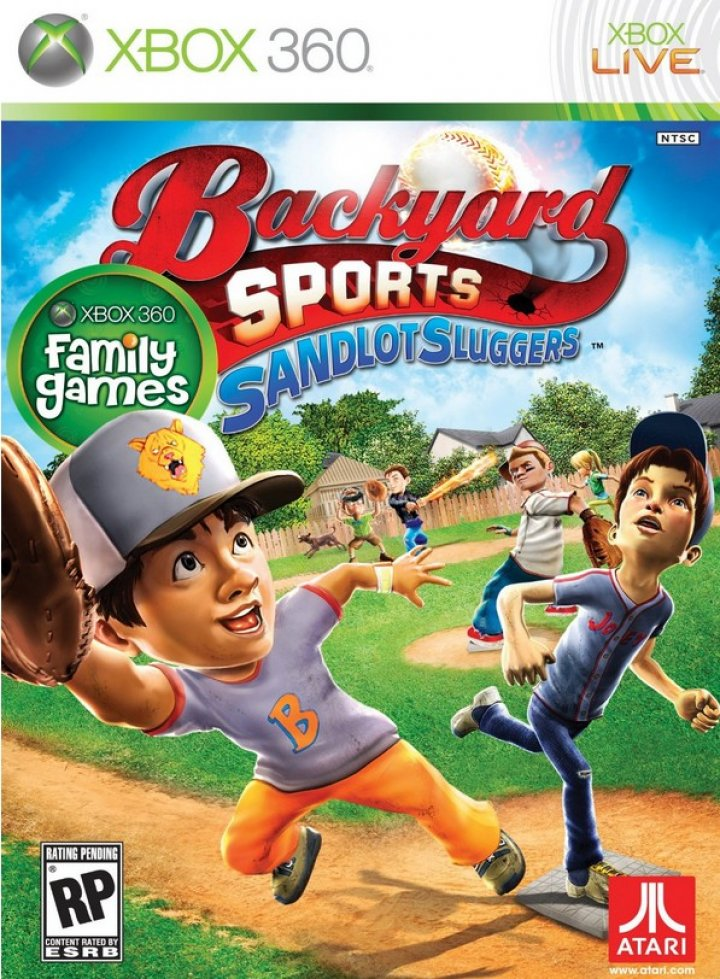 Backyard Sports: Sandlot Sluggers Xbox 360 X360 Disk Only ...