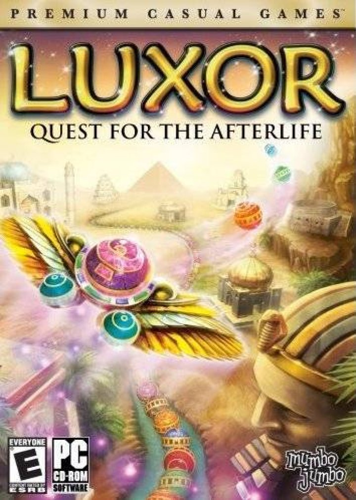 PC - Luxor: Quest for the Afterlife @ The Schworak Site