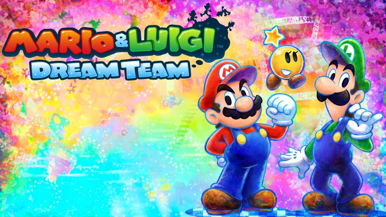 Tgdb Browse Game Mario Luigi Dream Team
