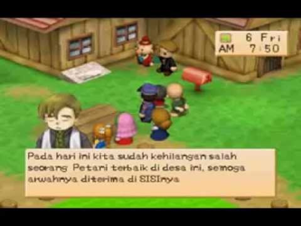 Tgdb Browse Game Harvest Moon Back To Nature