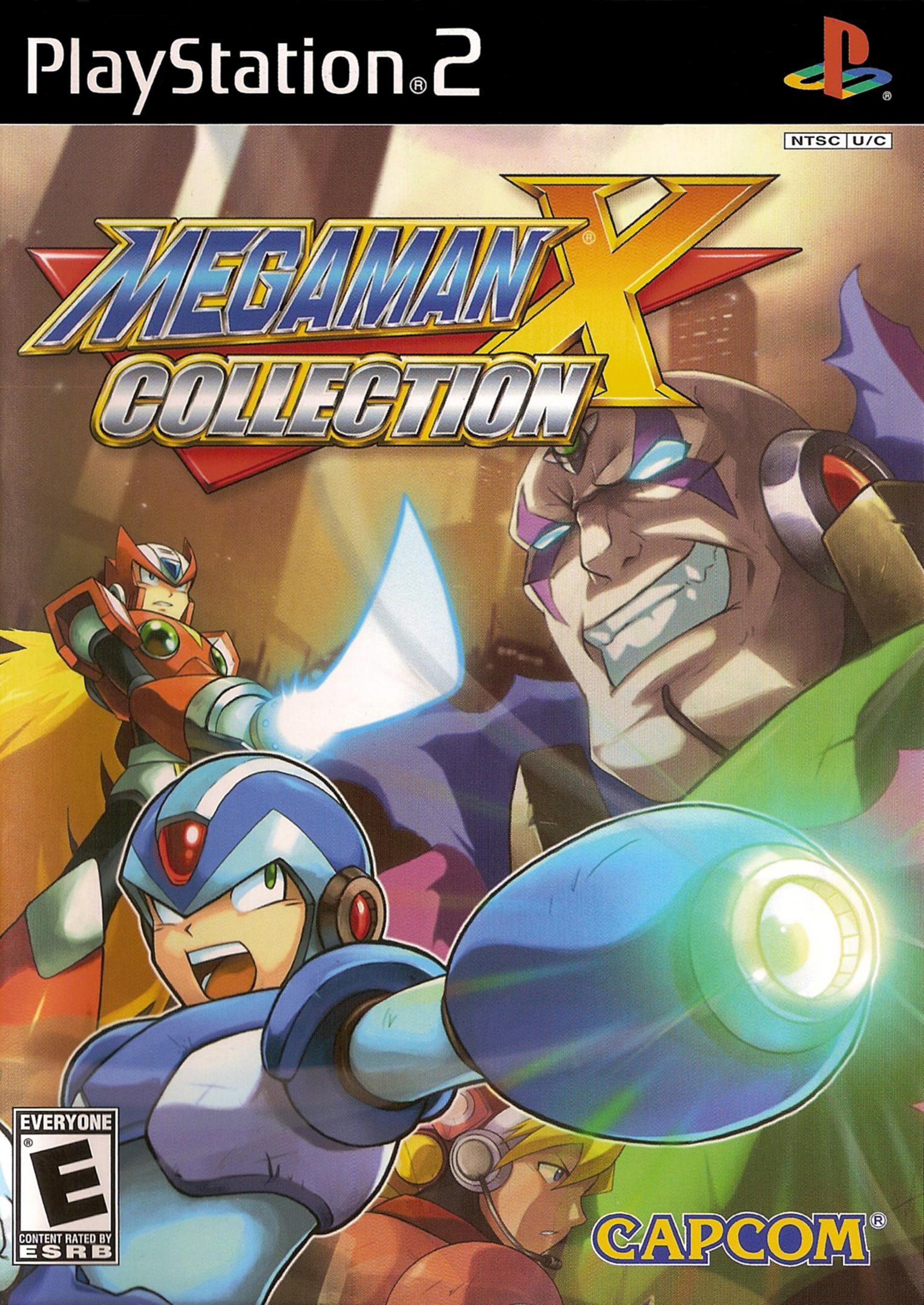 Mega Man X Collection/PS2