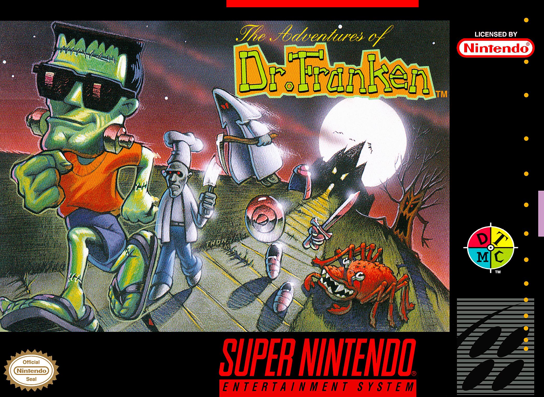 Adventures of Dr. Franken /SNES
