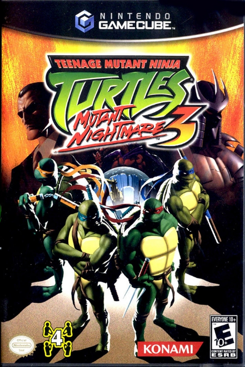 Teenage Mutant Ninja Turtles 3 Mutant Nightmare/GameCube