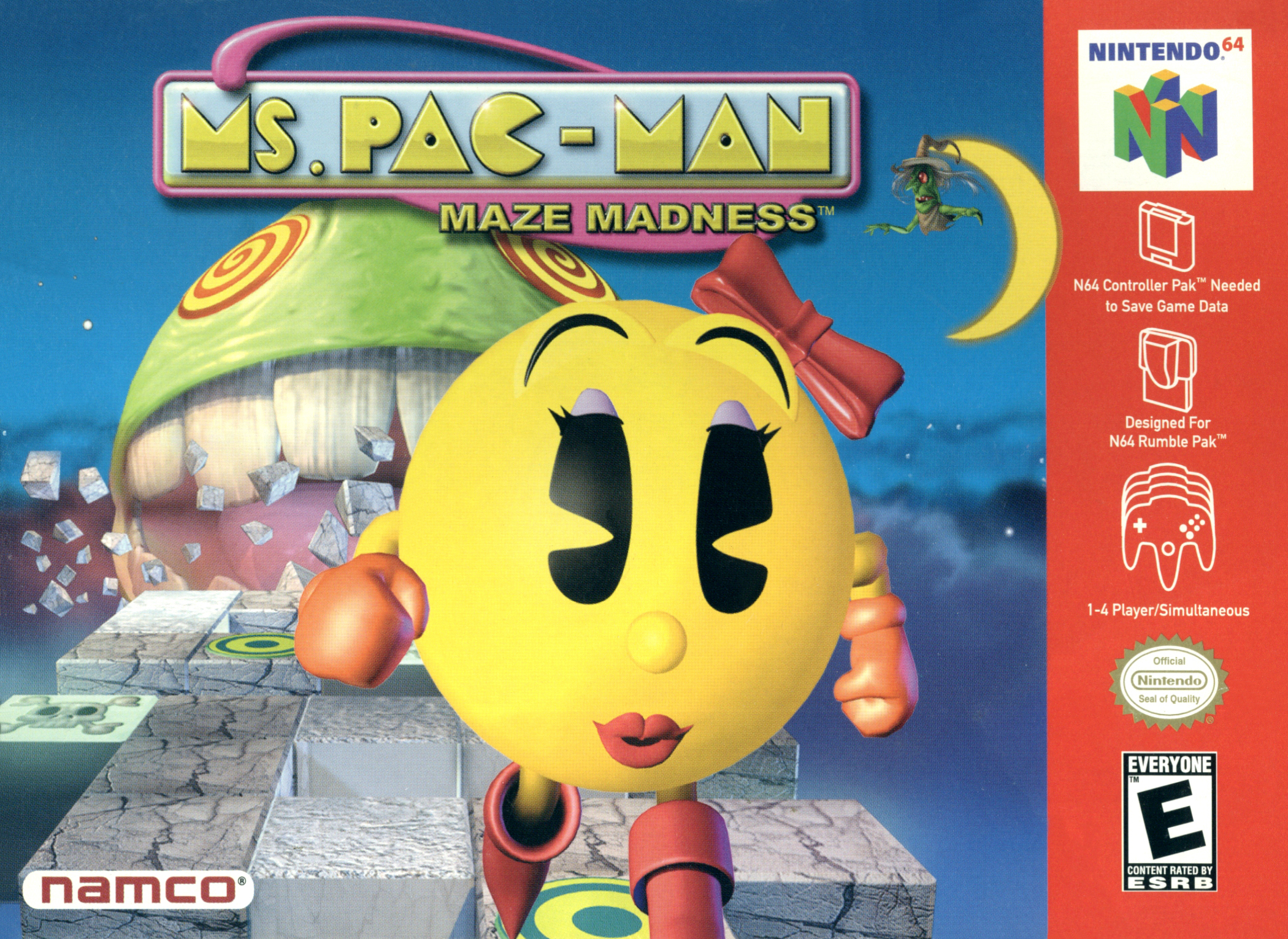 Ms. Pac-Man Maze Madness/N64