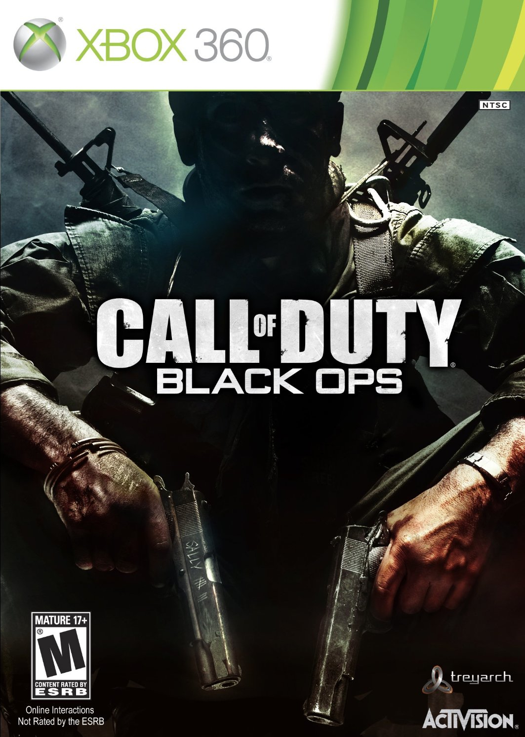 Call Of Duty Black Ops (Anglais Seulement) / Xbox 360