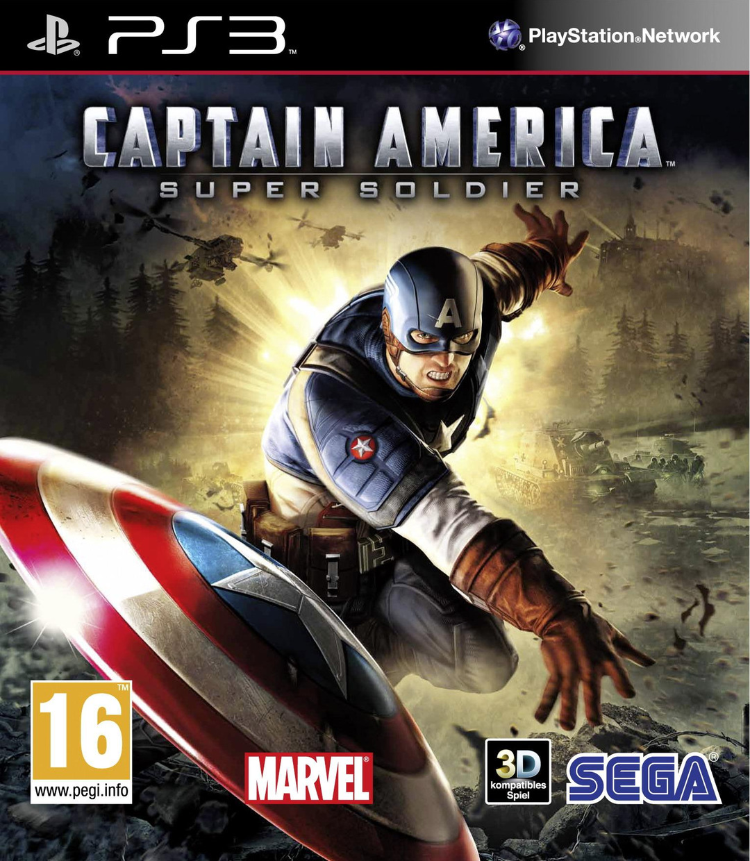 Captain America Super Soldier/PS3