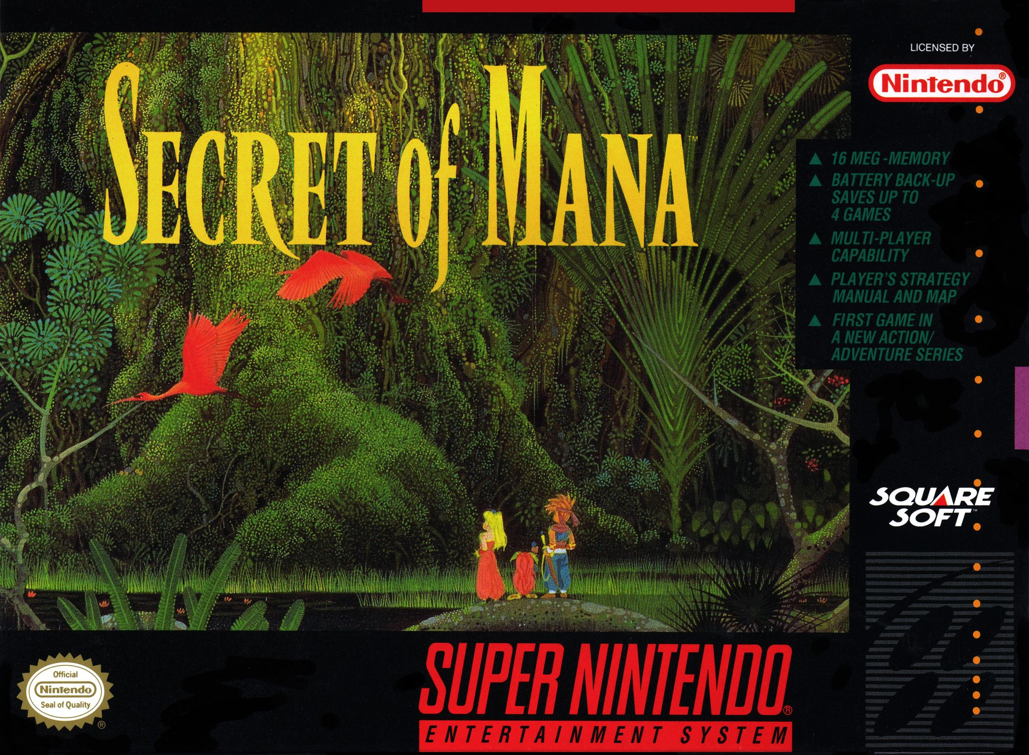 Secret Of Mana/SNES