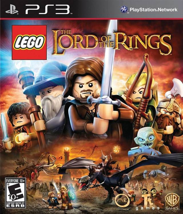 Lego Lord Of The Rings/PS3