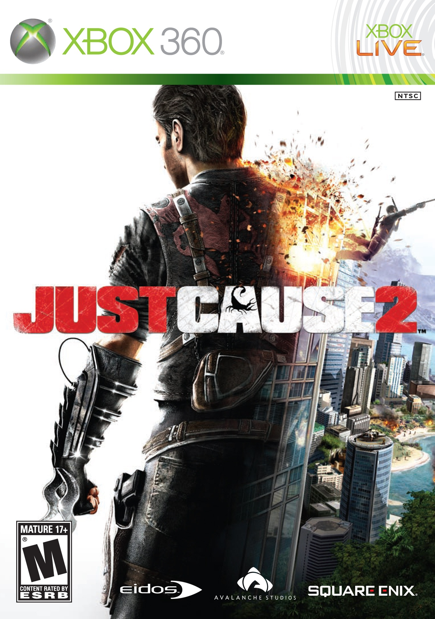 Just Cause 2/Xbox 360