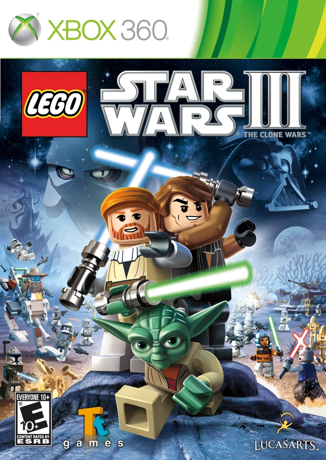 Lego Star Wars III The Clone Wars/Xbox 360