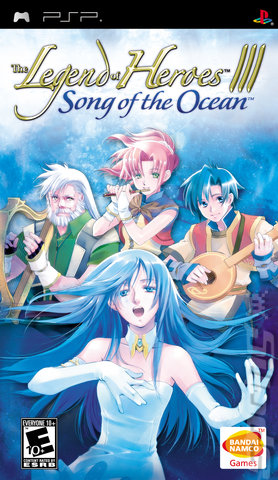 Legend of Heroes III Song of the Ocean/PSP