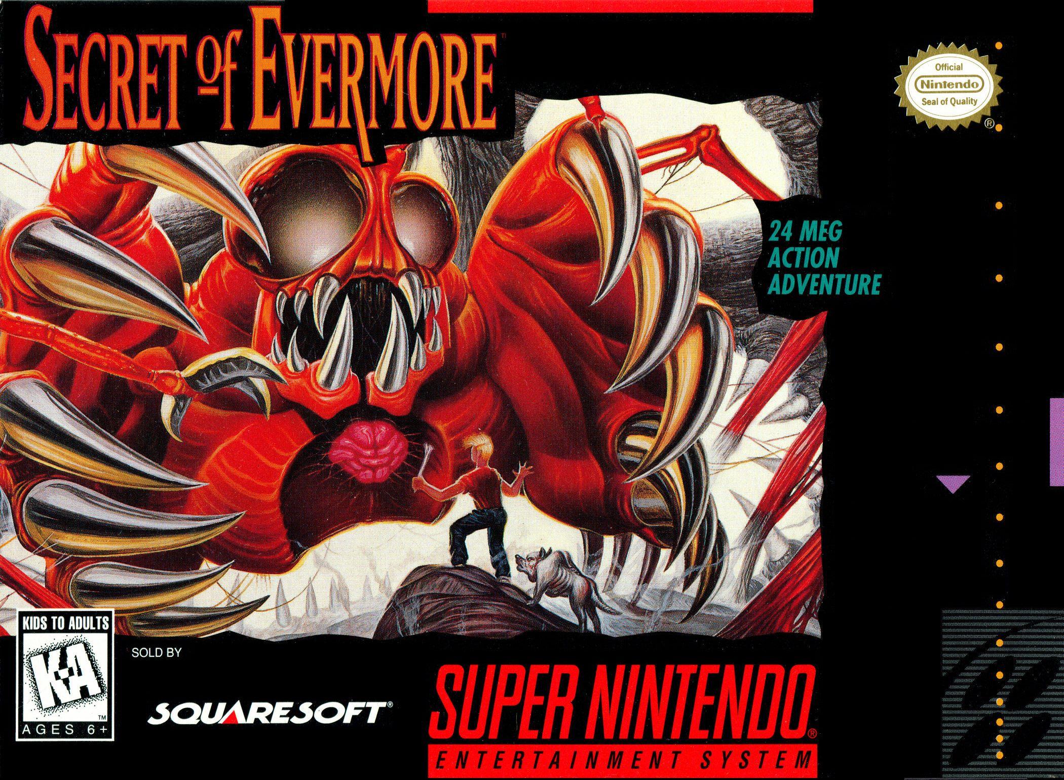 Secret Of Evermore/SNES
