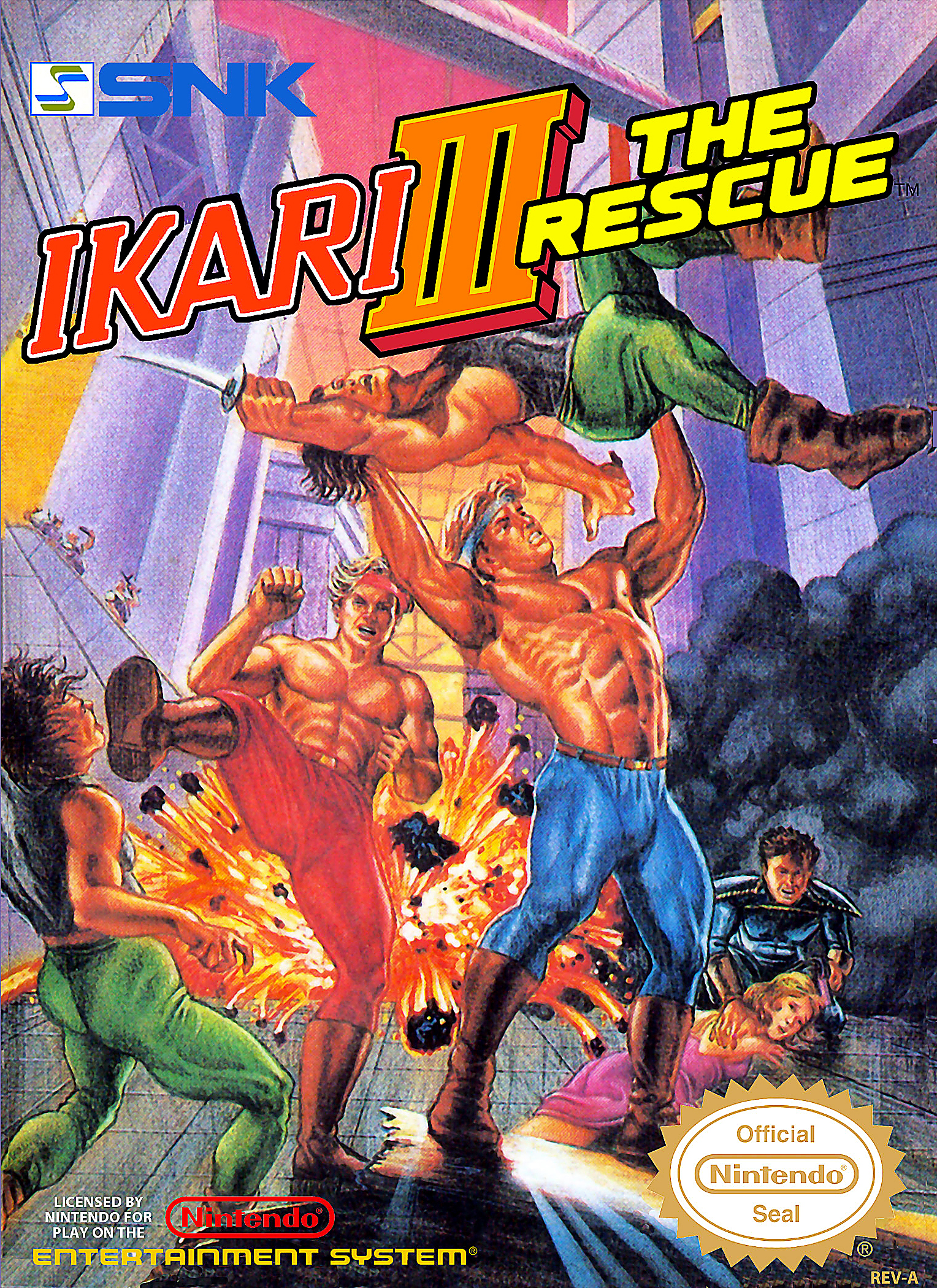 Ikari Warriors III The Rescue/NES