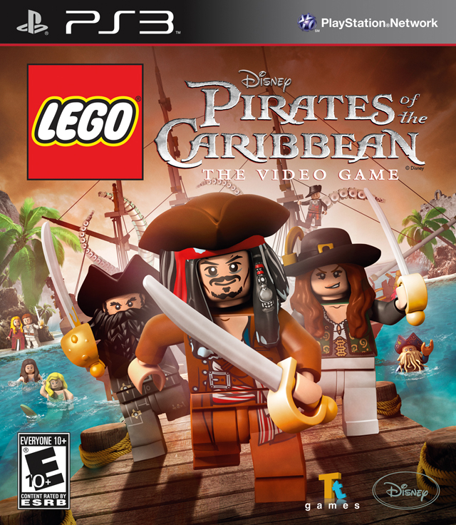 Lego Pirates Of The Caribbean The Videogame/PS3