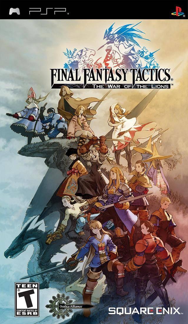 Final Fantasy Tactics War Of The Lions/PSP
