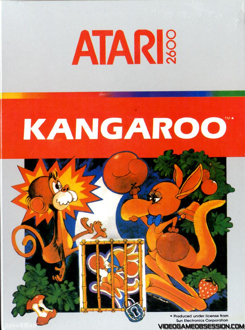 Kangaroo/Atari 2600