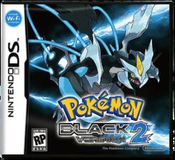 Pokemon Black Version 2 Anglais/DS