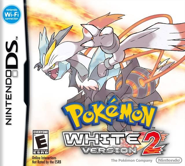 Pokemon White Version 2 Anglais/DS
