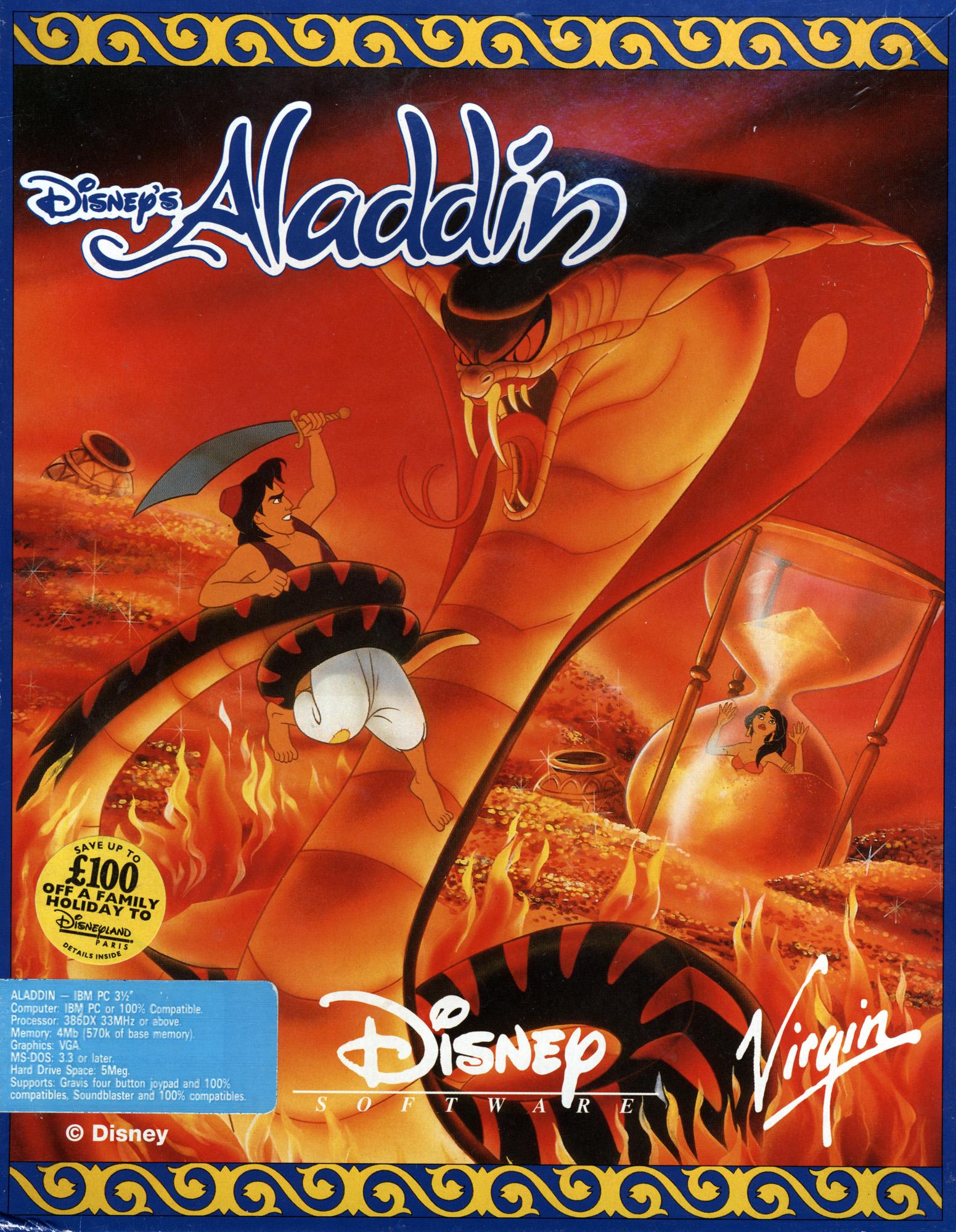 TGDB - Browse - Game - Disney's Aladdin