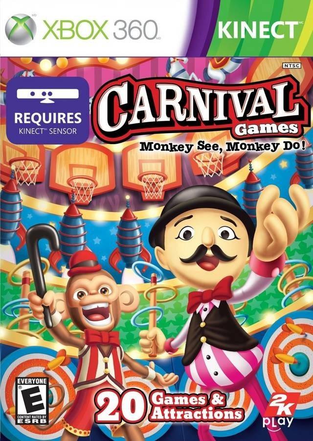 Carnival Games Monkey See Monkey Do/Xbox360 KINECT