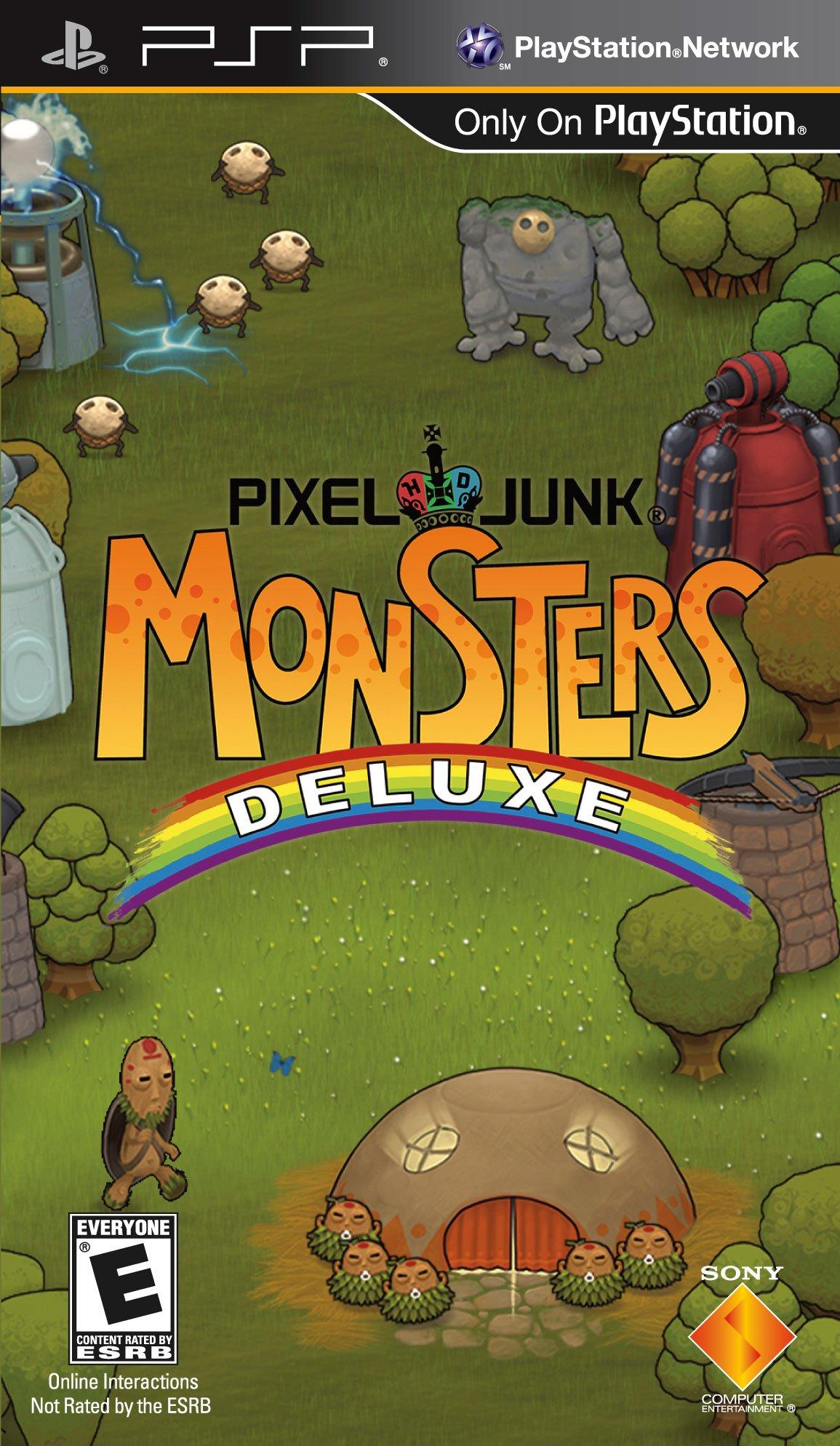 PixelJunk Monsters Deluxe / PSP