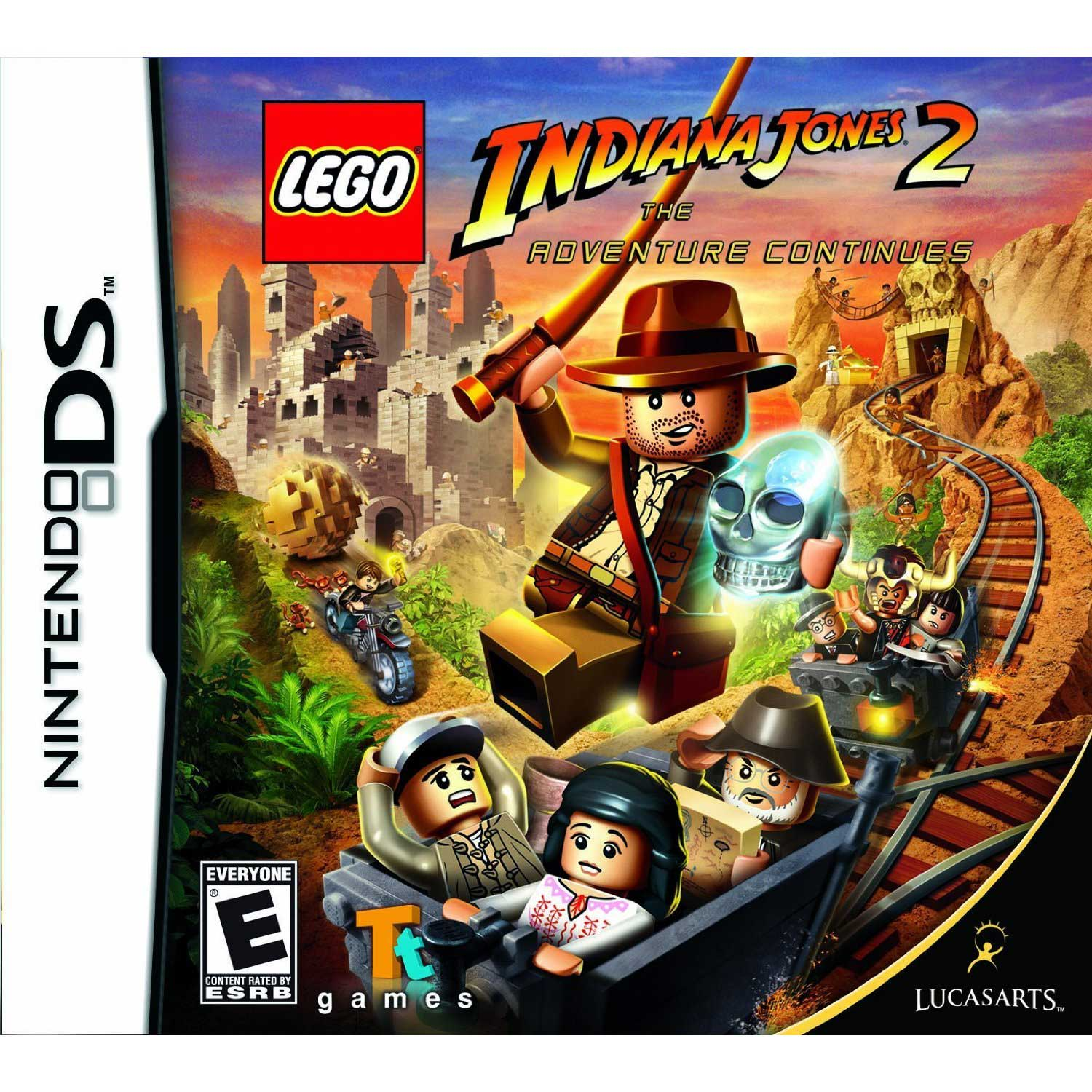 Lego Indiana Jones 2 The Adventure Continues/DS