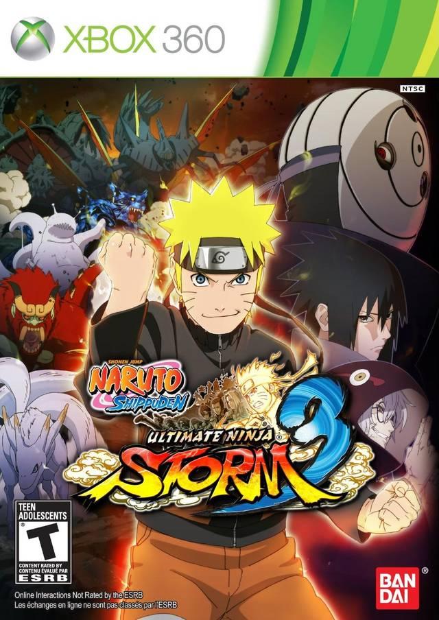 Naruto Shippuden Ultimate Ninja Storm 3/Xbox360