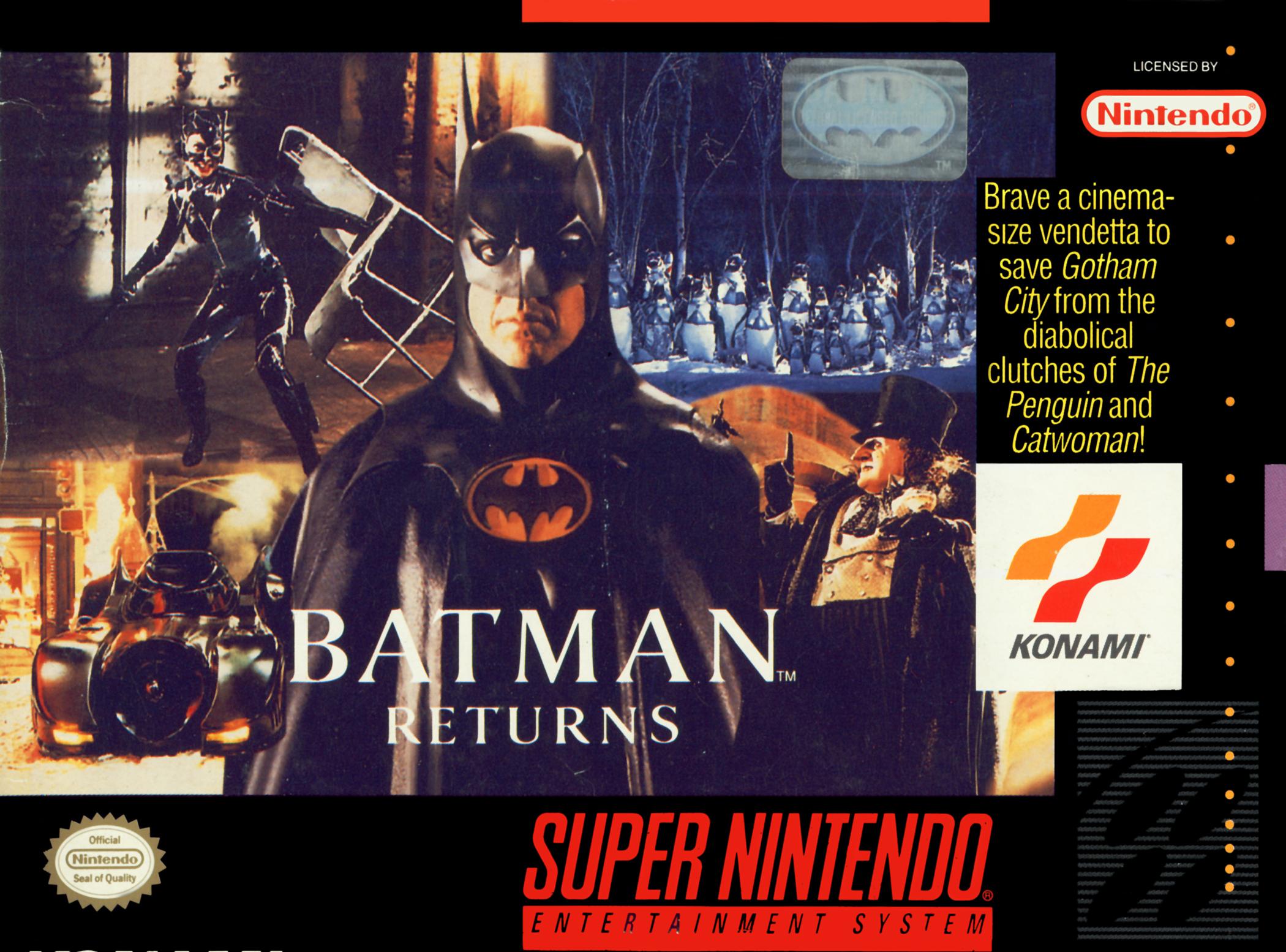 Batman Returns/SNES