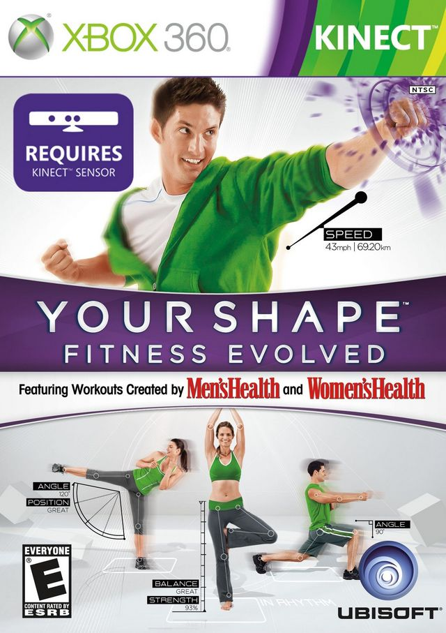 Your Shape Fitness Evolved/Xbox360 KINECT
