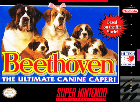Beethoven The Ultimate Canine Caper!/SNES