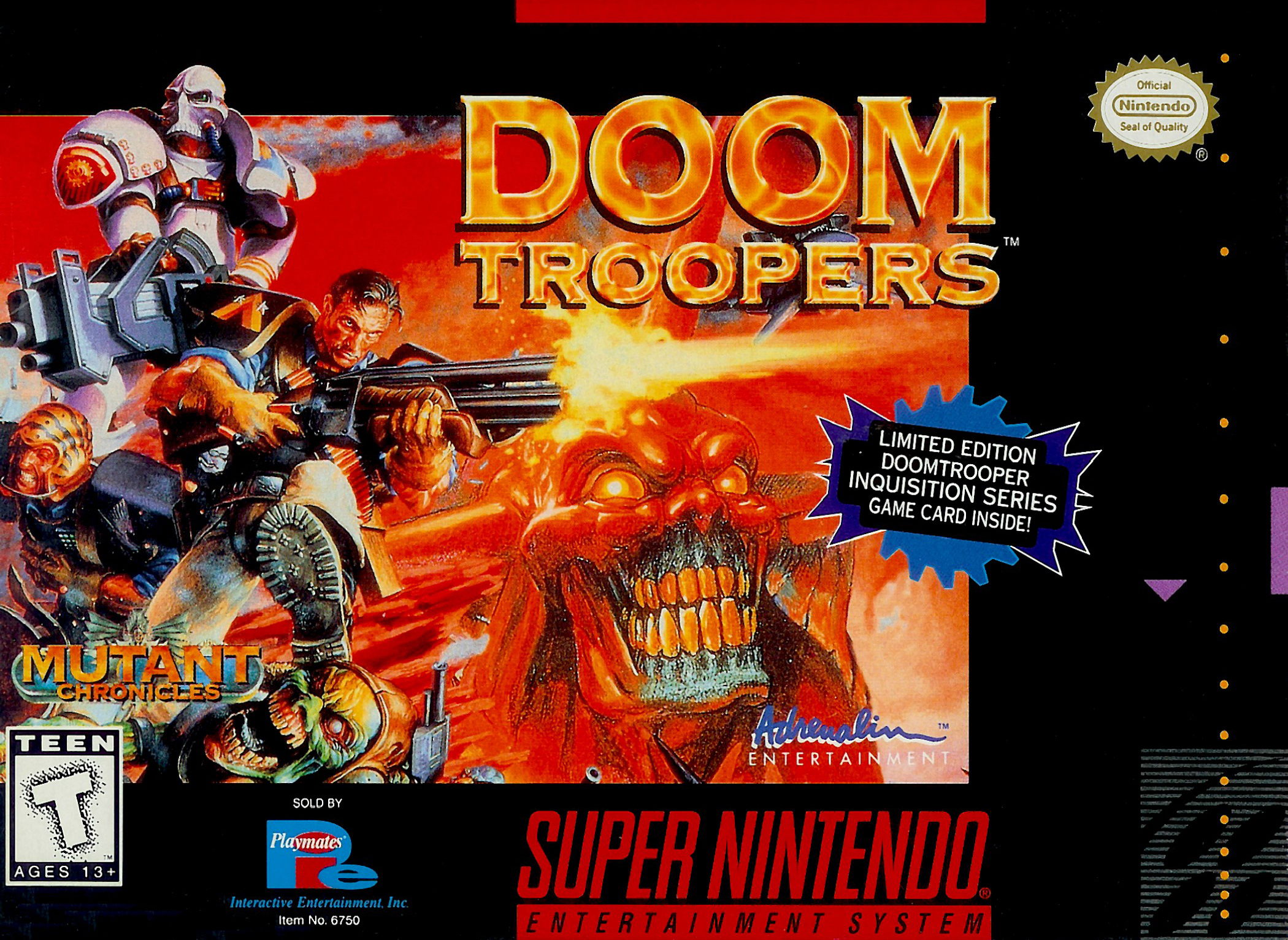 Doom Troopers The Mutant Chronicles/SNES