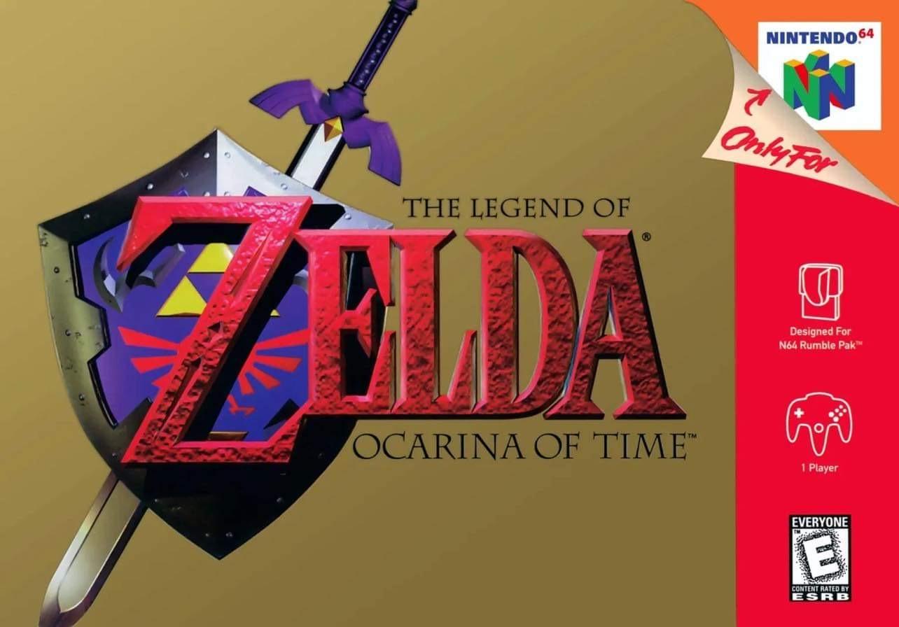 The Legend of Zelda Ocarina Of Time/N64