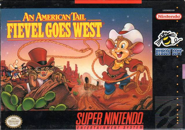 American Tail Fievel Goes West/SNES