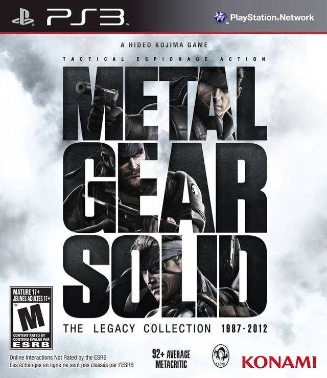 Metal Gear Solid The Legacy Collection/PS3