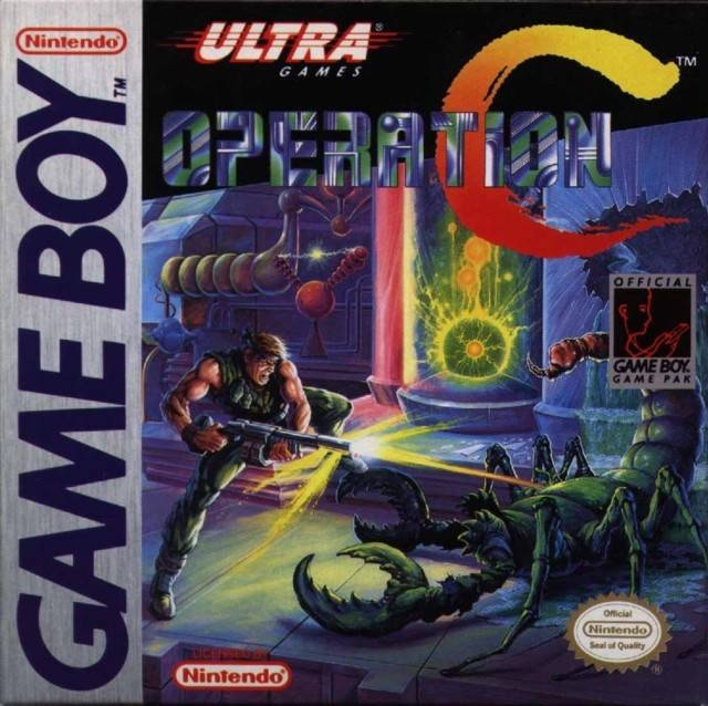 Operation C/Game Boy
