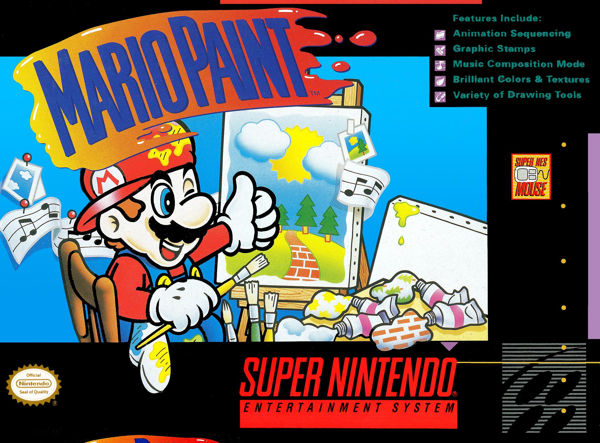 Mario Paint (Avec Souris) / SNES