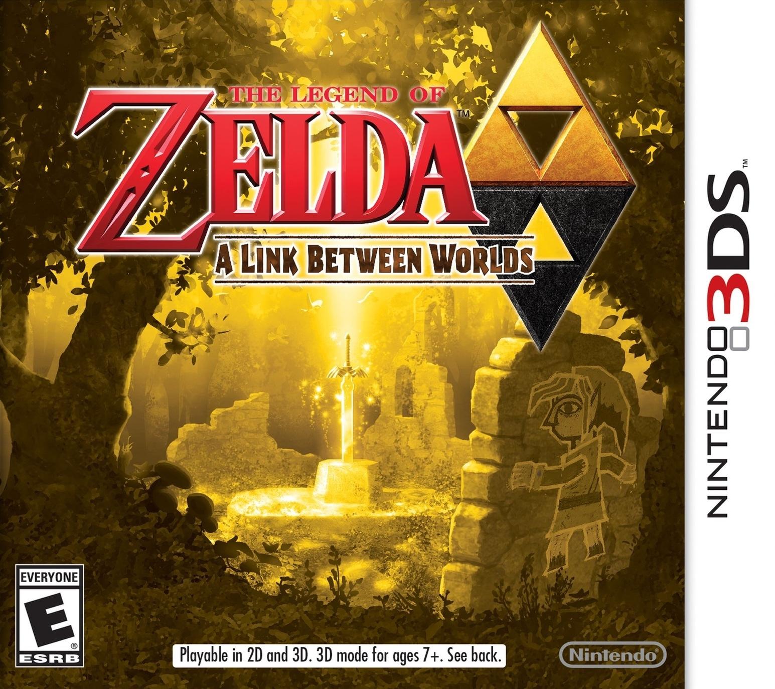 The Legend Of Zelda A Link Between Worlds/3DS